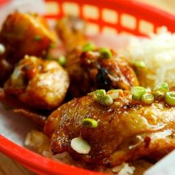 Asian Honey Ginger Fried Chicken