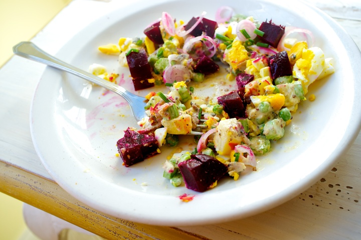 Smoked Herring Salad