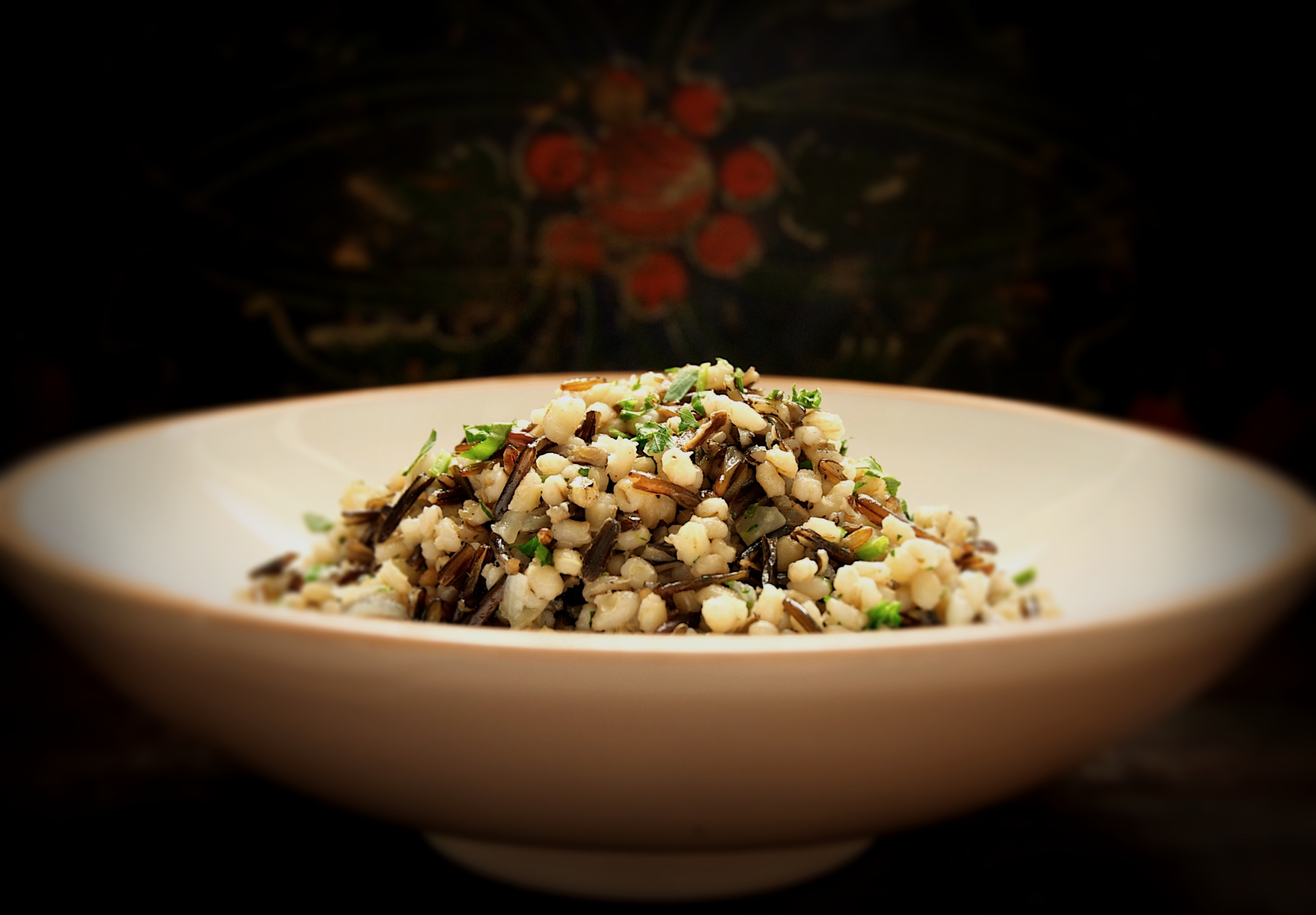 Wild Rice and Barley Pilaf