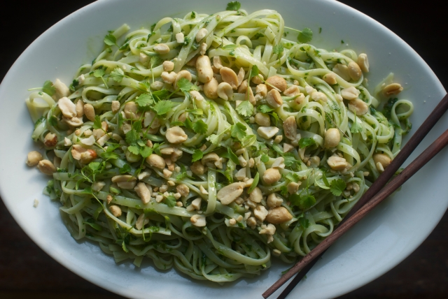 Thai Pest with Brown Rice Noodles