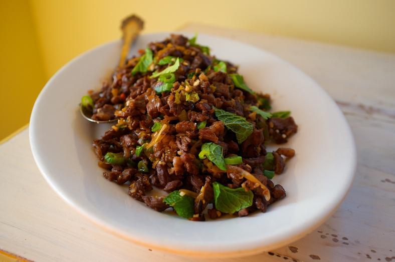 Laotian Beef Salad