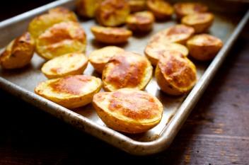 Duck Fat Roasted Potatoes