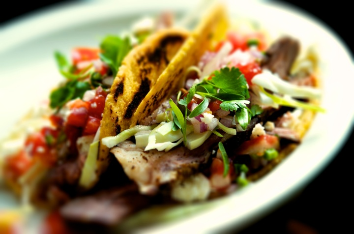 beef rib taco
