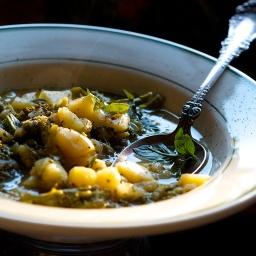 Marcella's Broccoli and Potato Soup