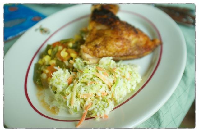 classic creamy coleslaw
