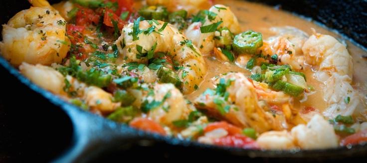 Shrimp and Okra Stew