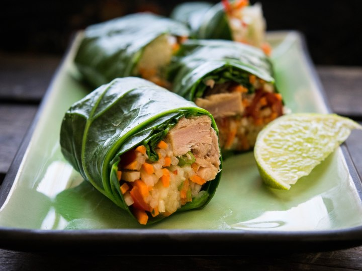Thai Collard Wraps
