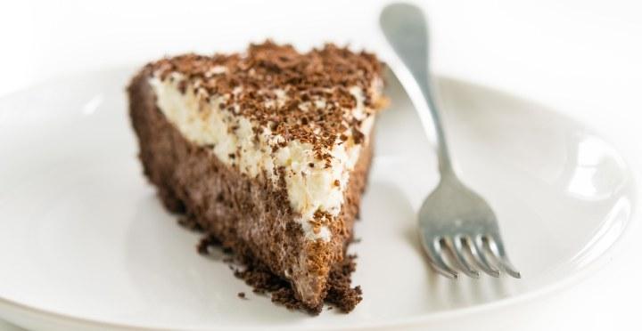 Chocolate Chiffon Pie