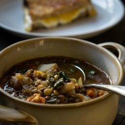 A Delicious Lentil Soup With A Dirty Little Secret