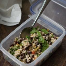 Barley Salad with Kalamata Olives, Sun-dried Tomatoes, and Parsley