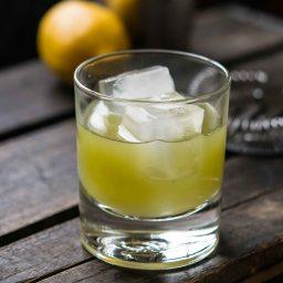 RECIPE CARD: Celery and Lemon Tom Collins (mocktail or cocktail)