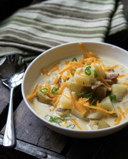RECIPE CARD: Slow Cooker Baked Potato Soup