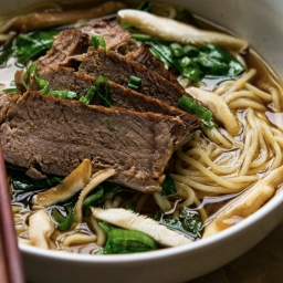 Taiwanese Beef Noodle Soup (For the Slow Cooker)