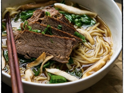 Taiwanese Beef Noodle Soup-